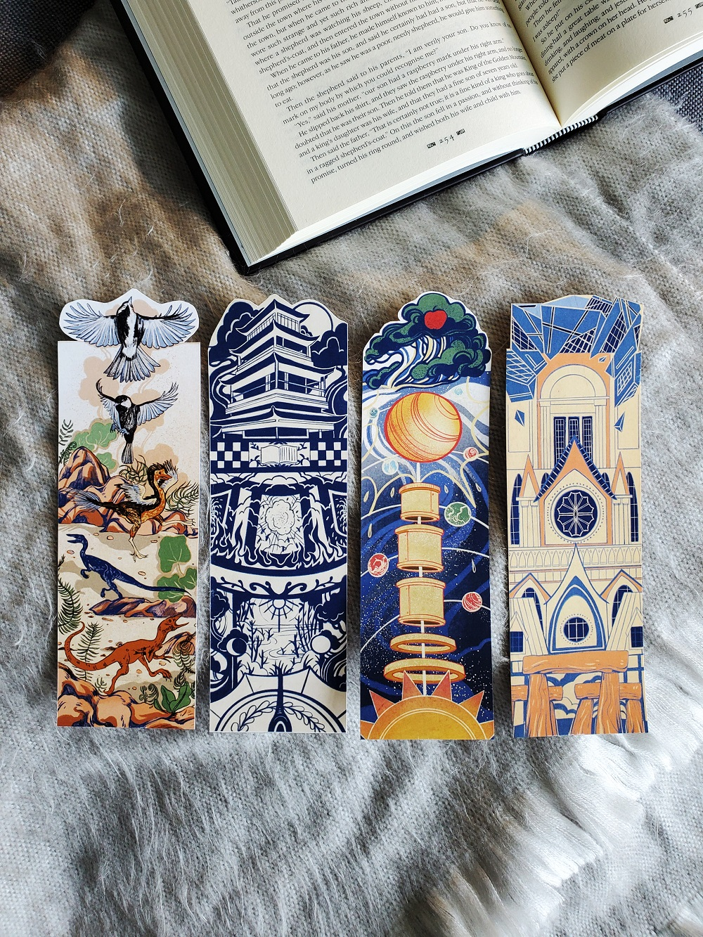 4 History Bookmarks