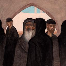 Monks in Scetis